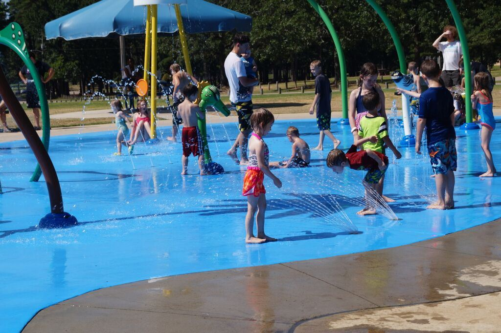 Rotary Splash Pad at Spring Lake Park