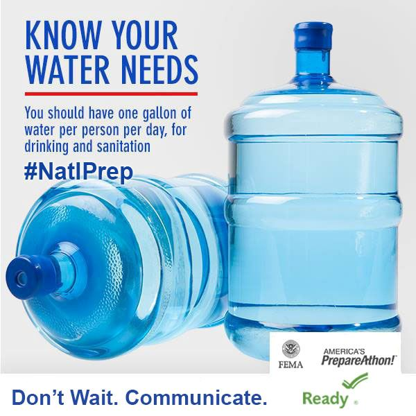 Know your water needs flyer