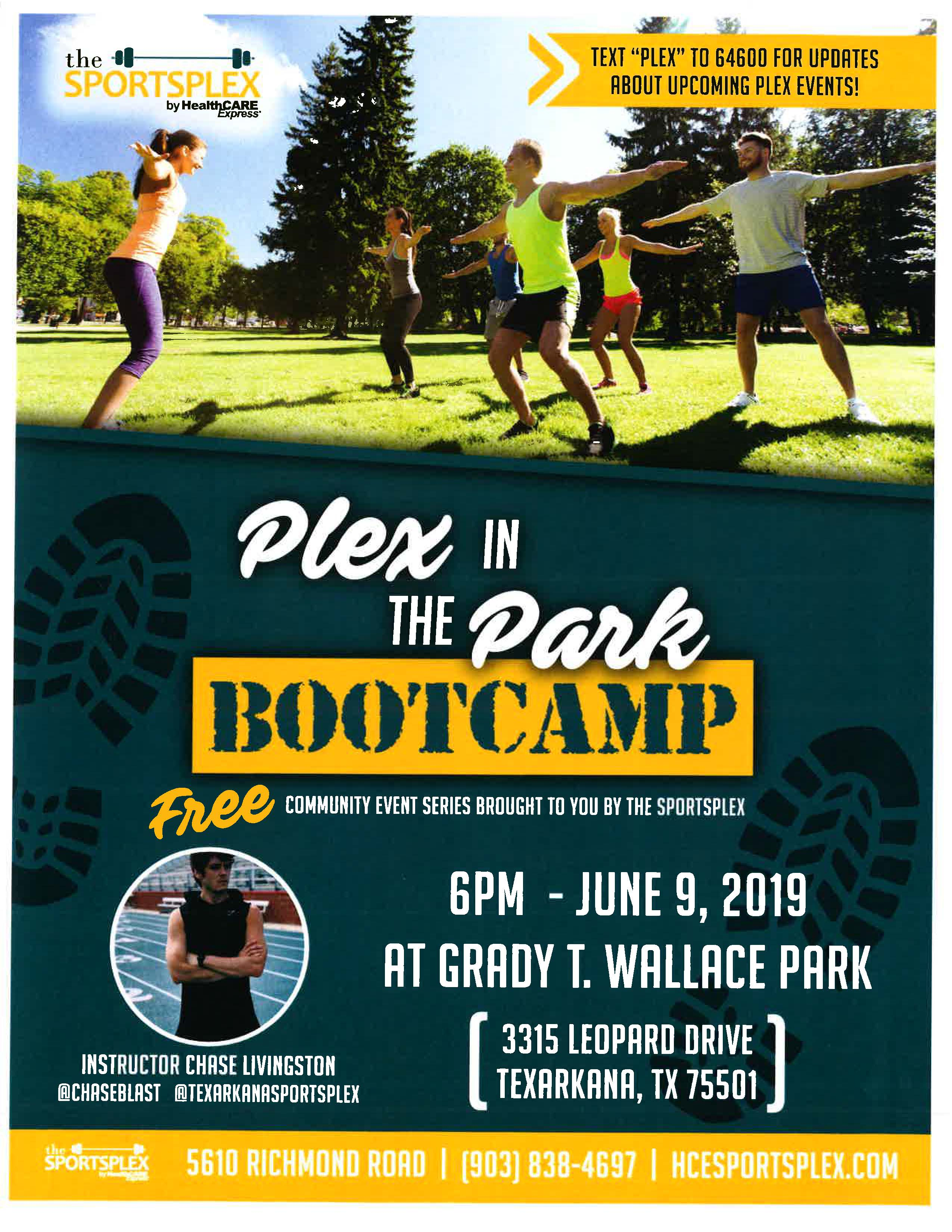 Plex in the Park (Boot Camp)