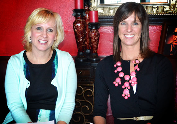 2013 Teen Court Fundraiser, Board Members Deborah Jones and Katie Carter