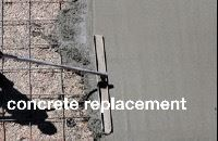 concrete replacement